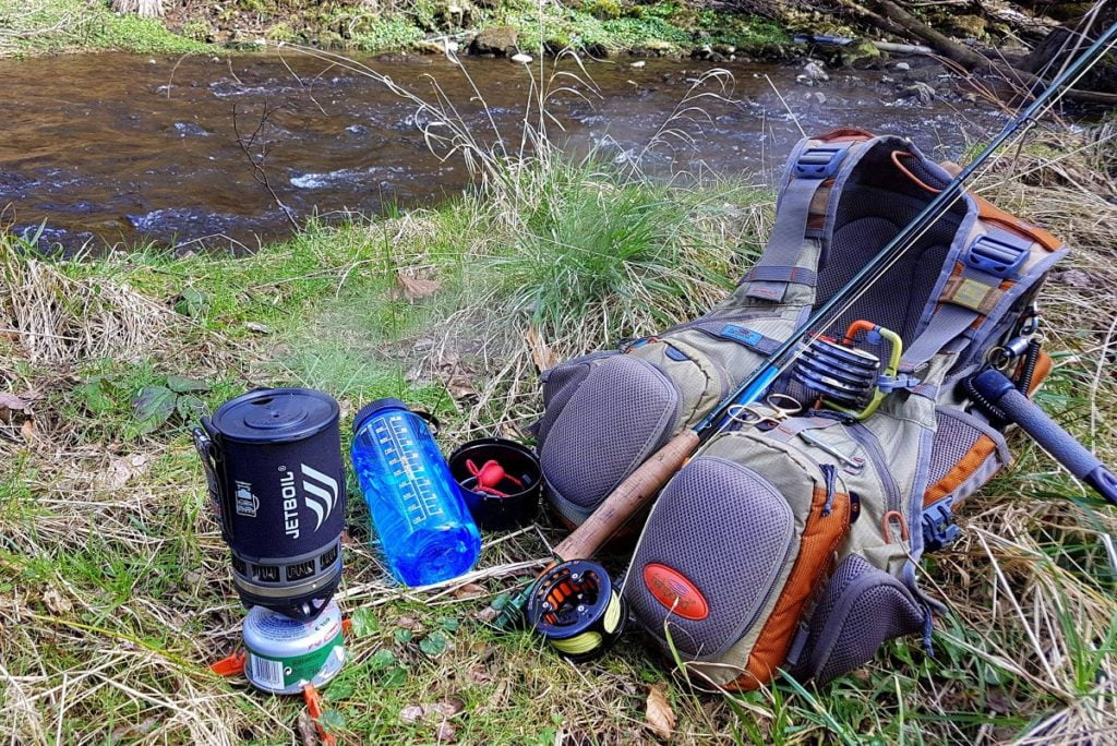 Fly fishing gear for small streams