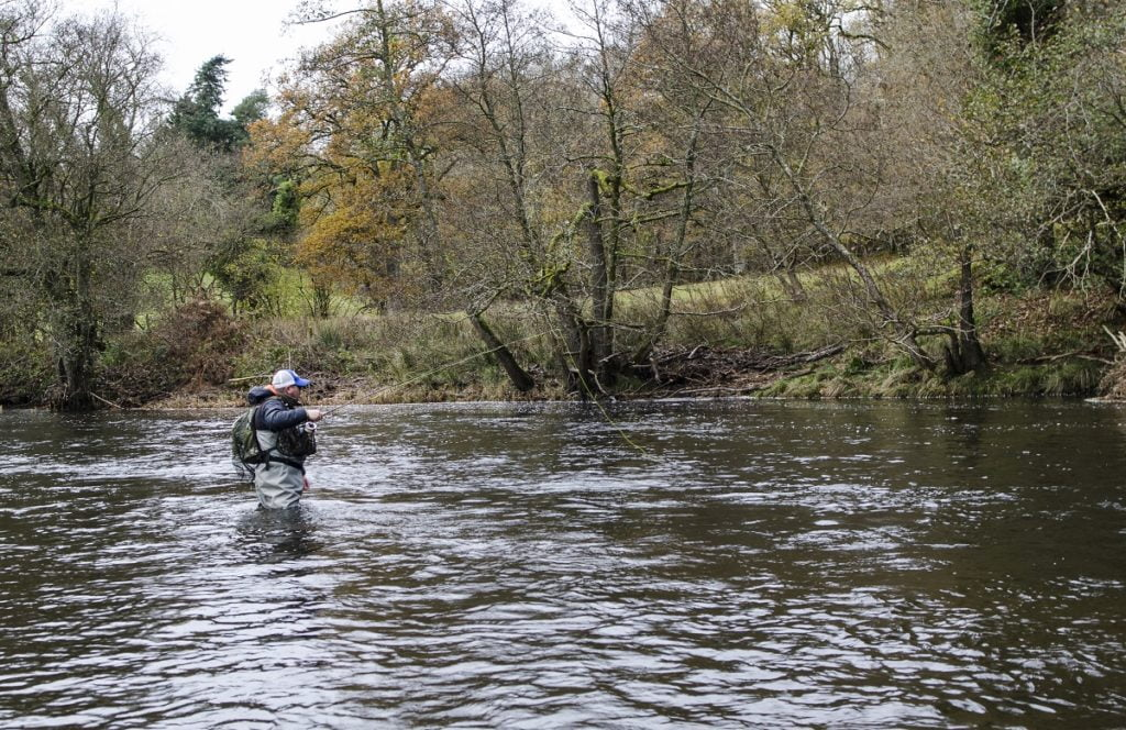 Grayling fishing in Wales