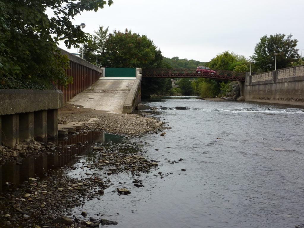 The River Ogmore at Bridgend