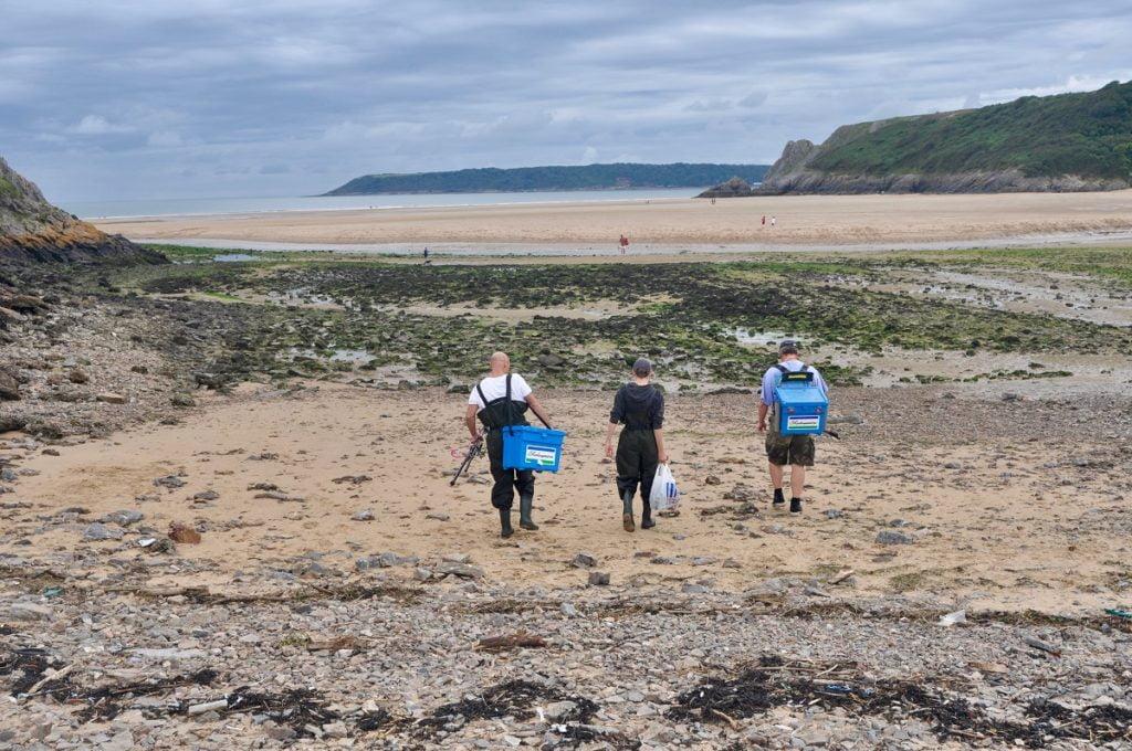 Sea fishing in Wales