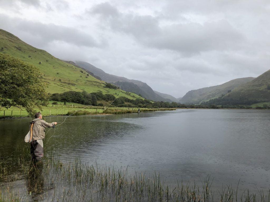Fly Fishing on Talyllyn aka Llyn Mwyngil