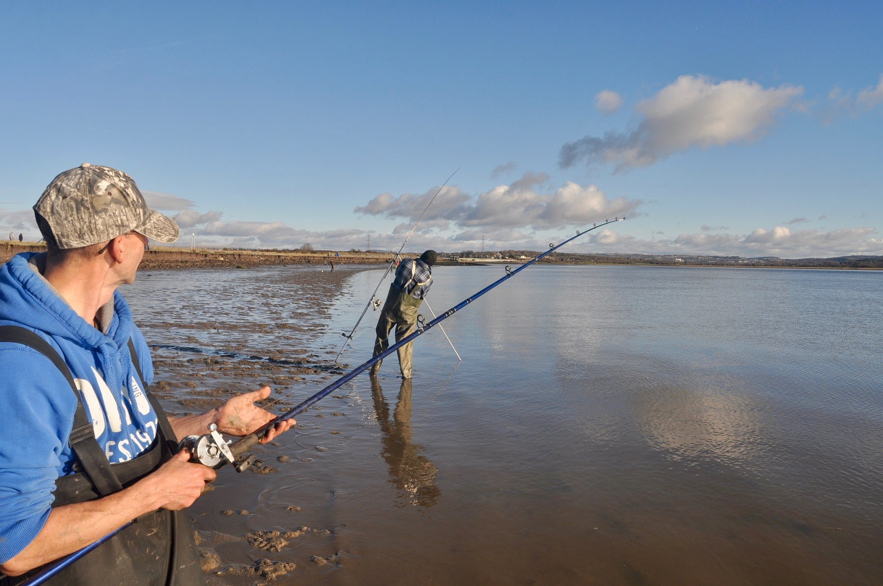 Estuary fishing is very productive in Wales