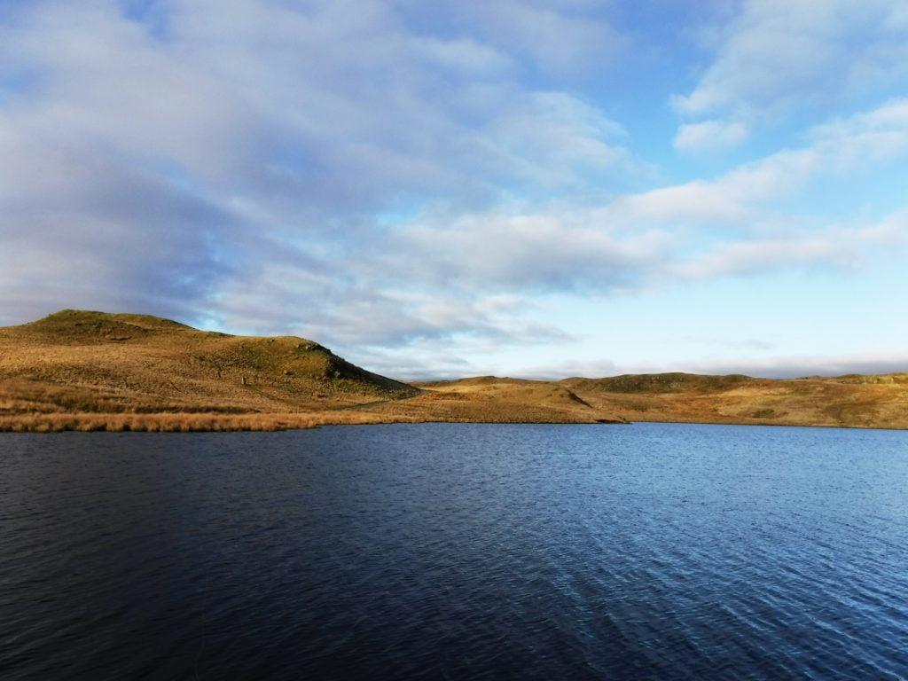 llyn Egnant - lake of the church