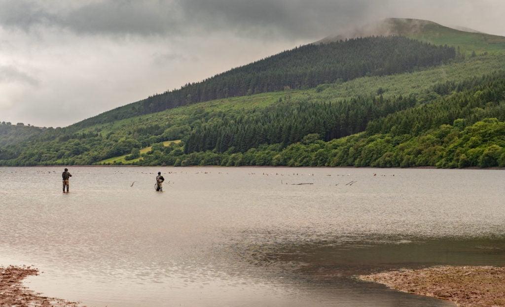 fishing in Wales Covid-19 coronavirus