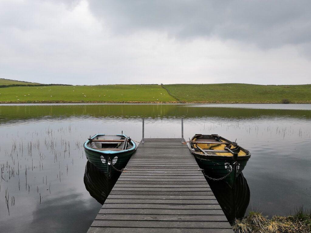 llyn fishing Wales