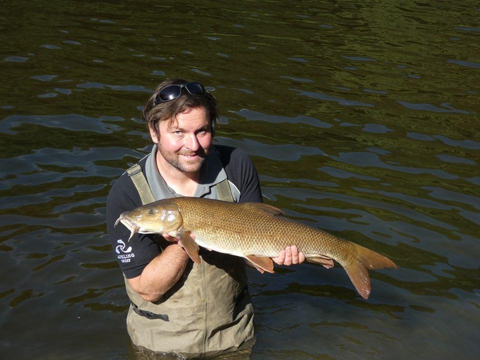 River Wye Wales barbel fishing