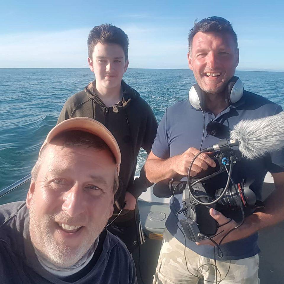 Rob Hughes sea fishing Wales