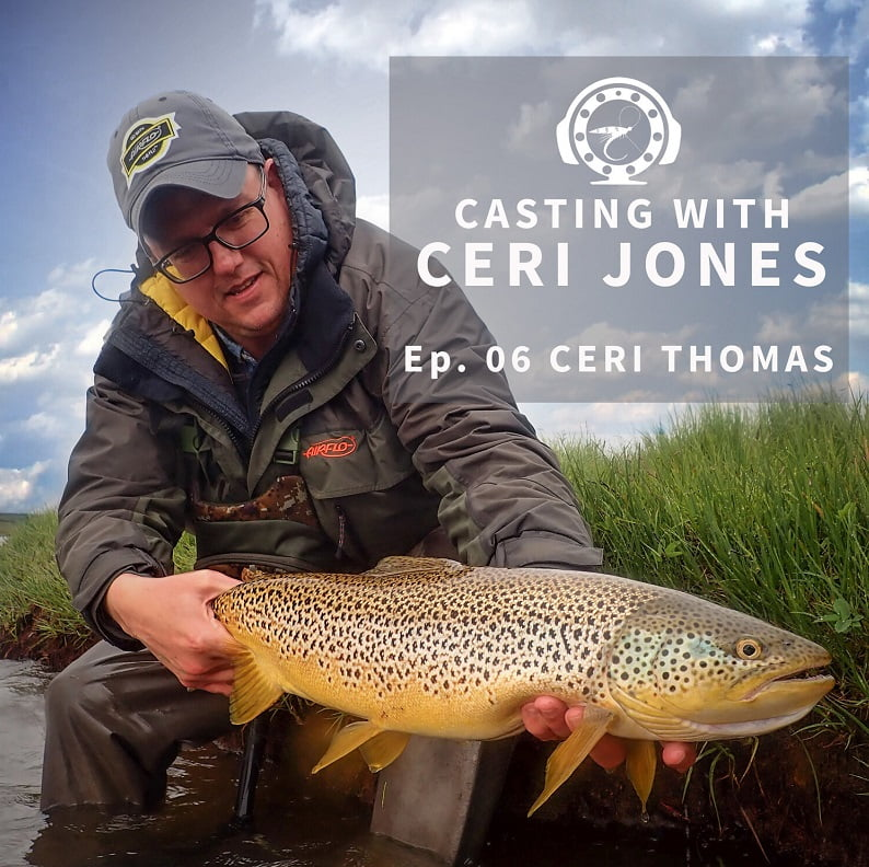 fly fishing podcast Wales