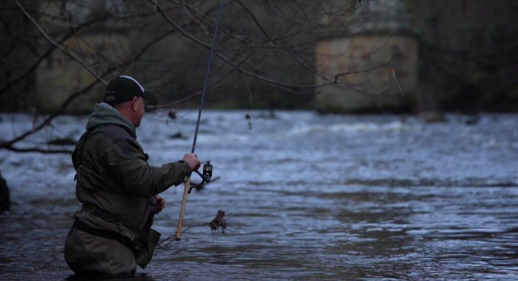 Grayling fishing river Dee