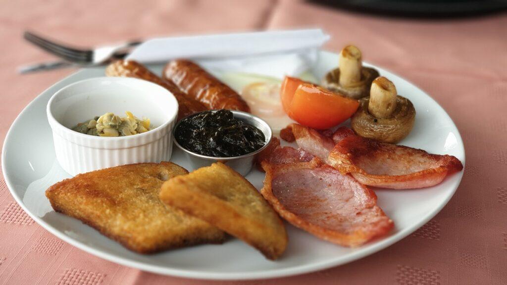 A welsh fishing breakfast