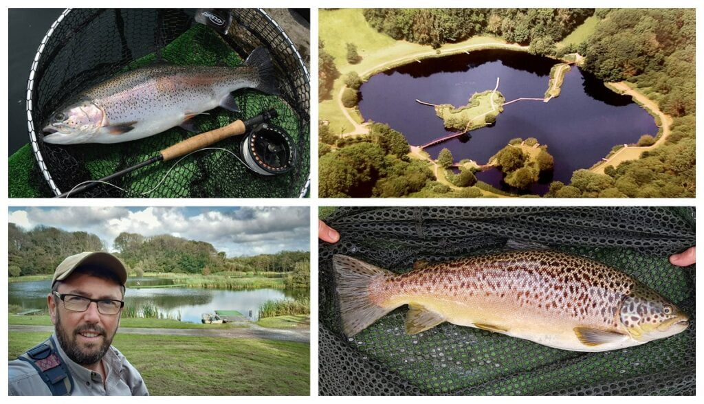 trout fisheries in Wales