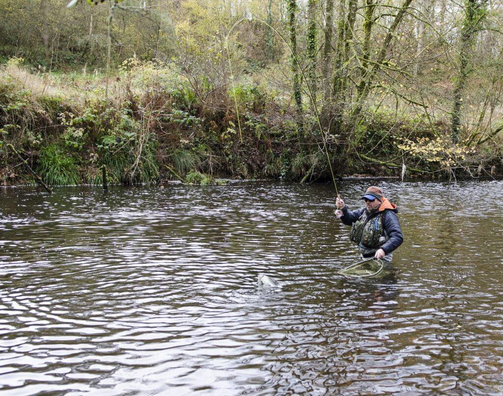 River irfon grayling fishing