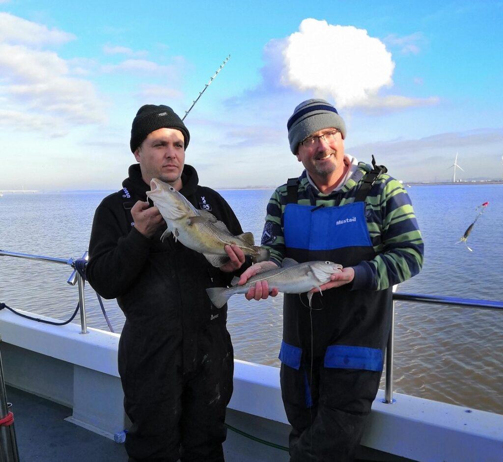 cod fishing in Wales