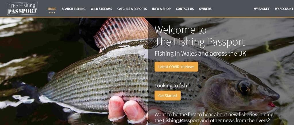 The fishing passport booking