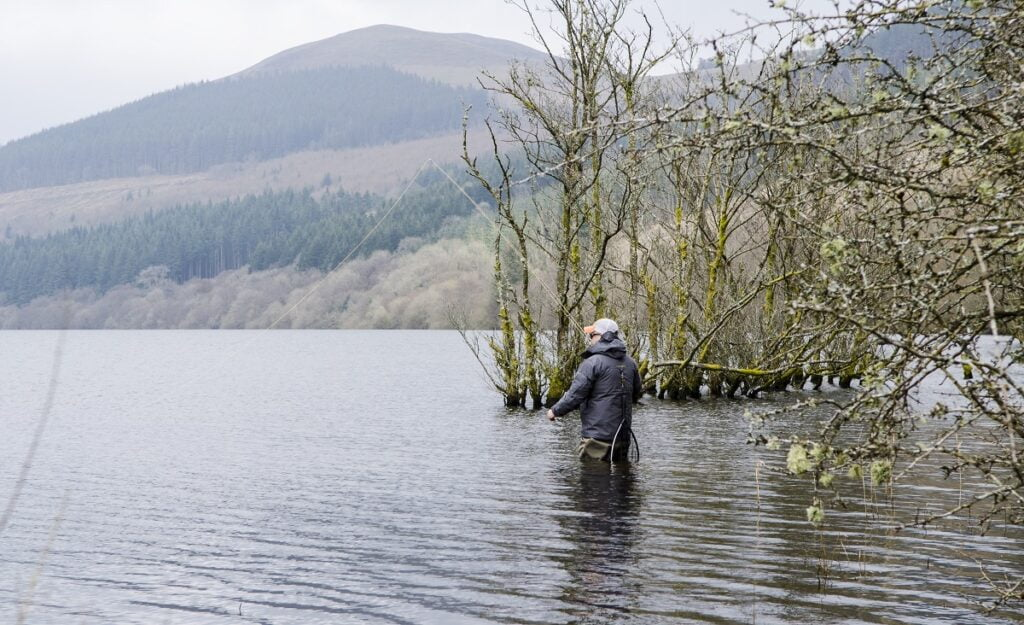 spring fly fishing on tal-y-bont