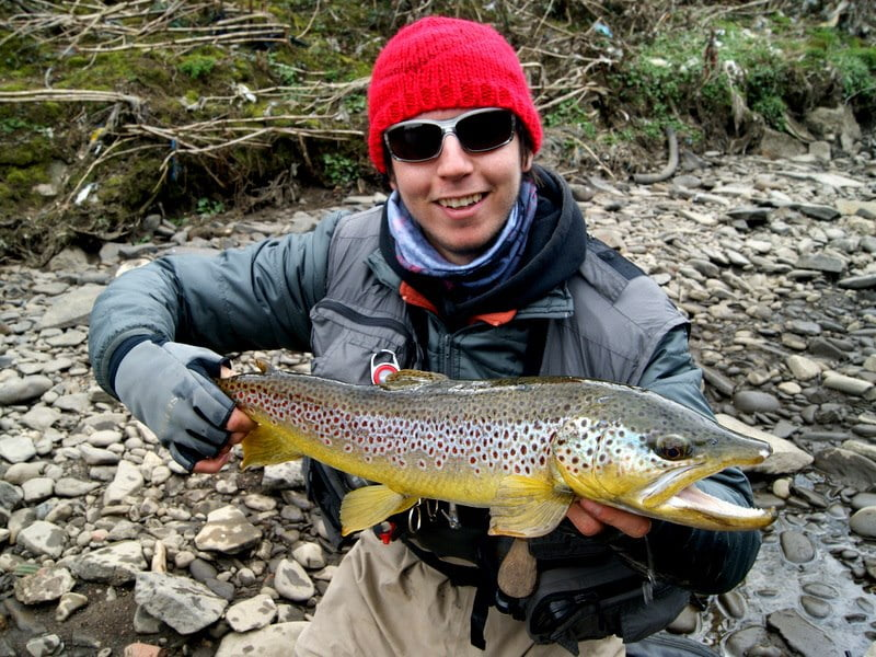 Trout fishing on the Taff