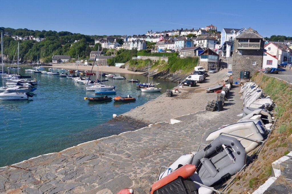 short angling break in Wales