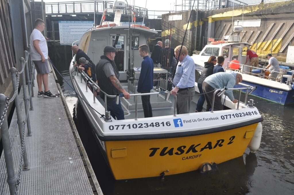 charter boat fishing Cardiff