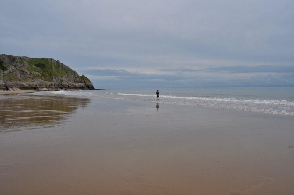 sea fishing Wales