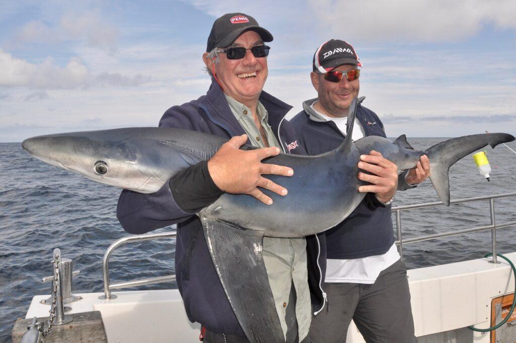 shark fishing wales