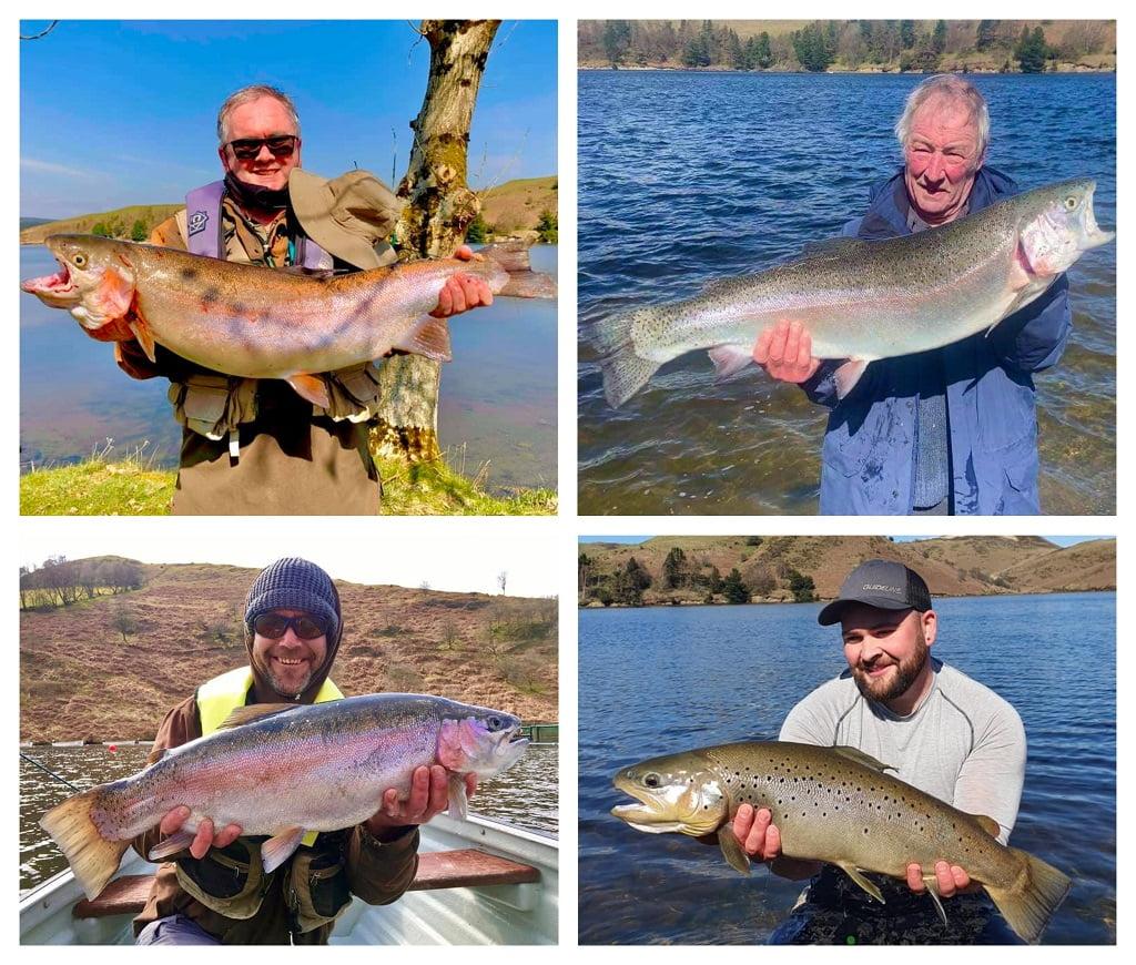 llyn Clywedog lake fishing