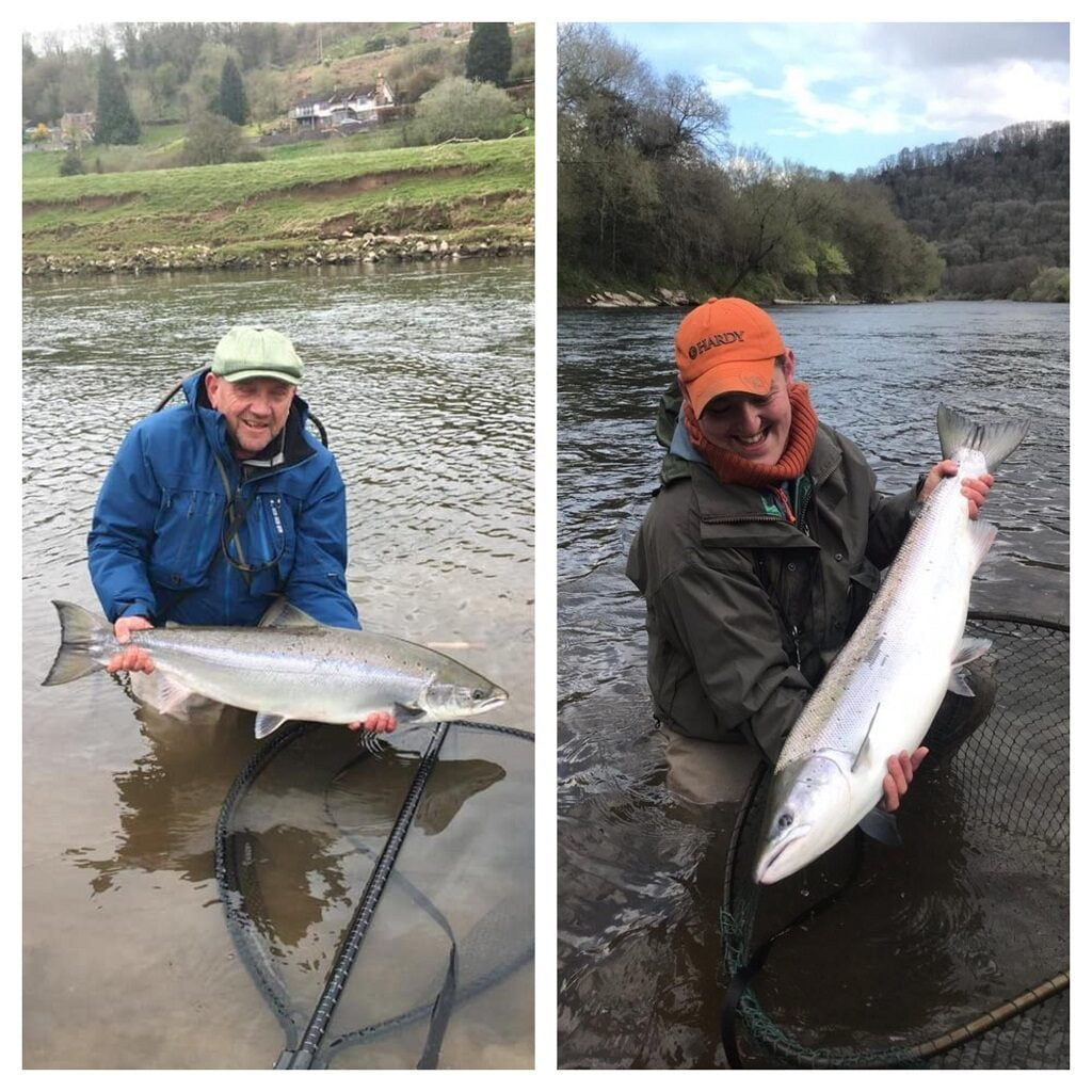 salmon fishing river Wye