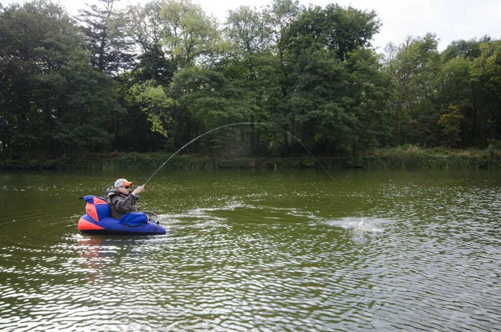 float tube fishing gludy