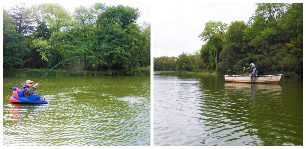 gludy lake fishing