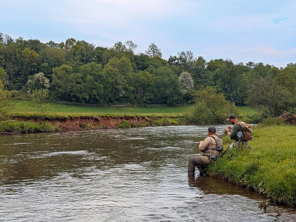 river monnow mayfly fishing