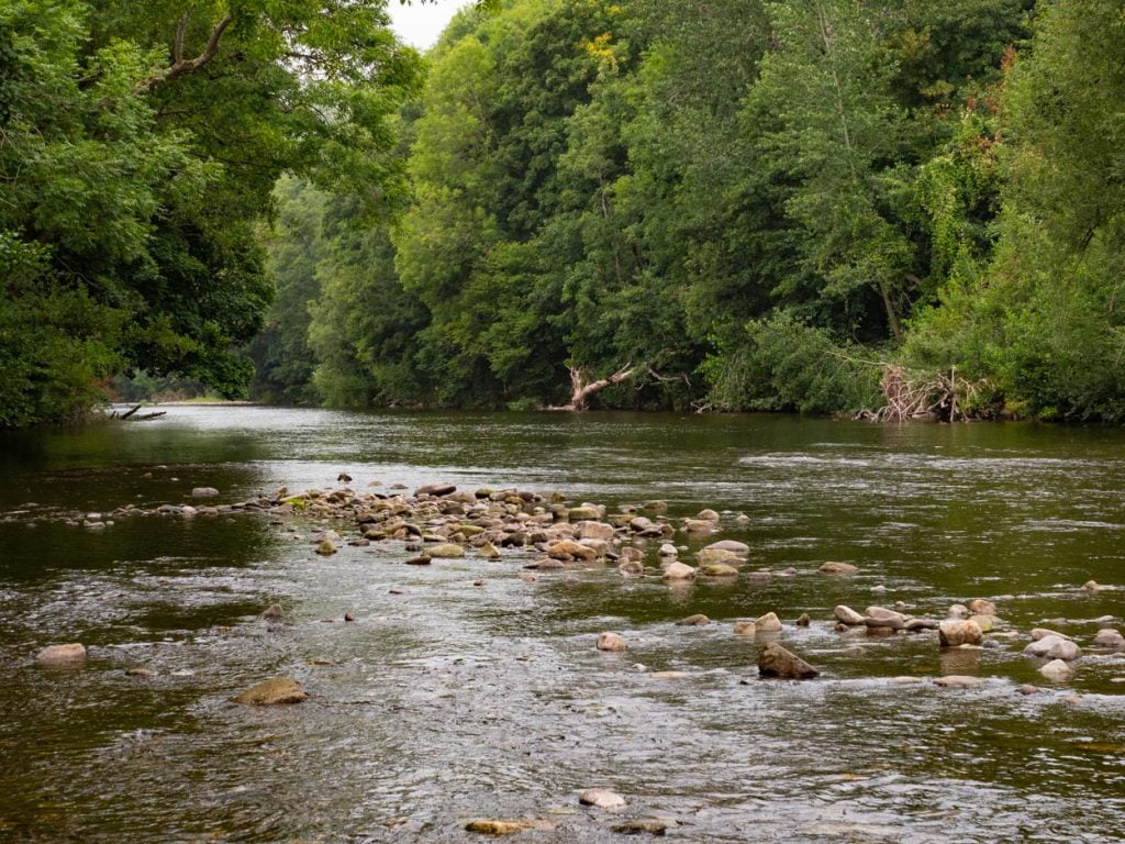 Hot Weather fishing Wales