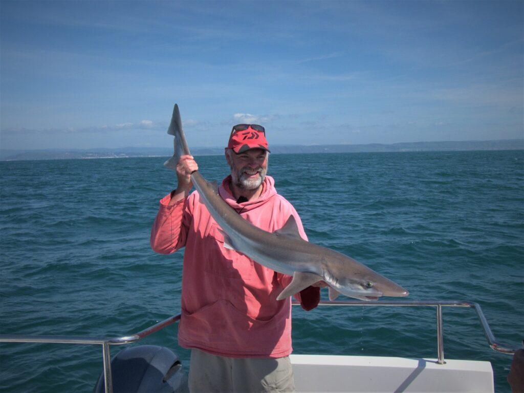 sea fishing Wales tope fishing