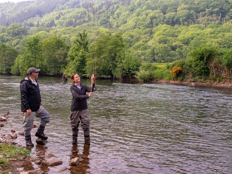 join a Welsh angling club