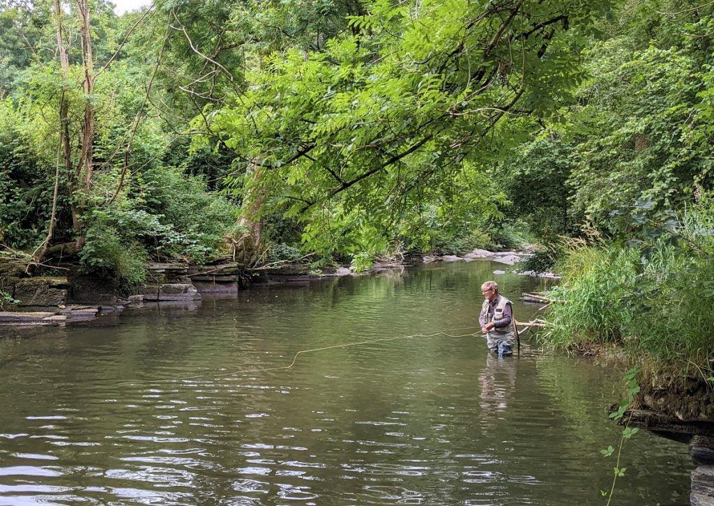 river edw Wales fishing