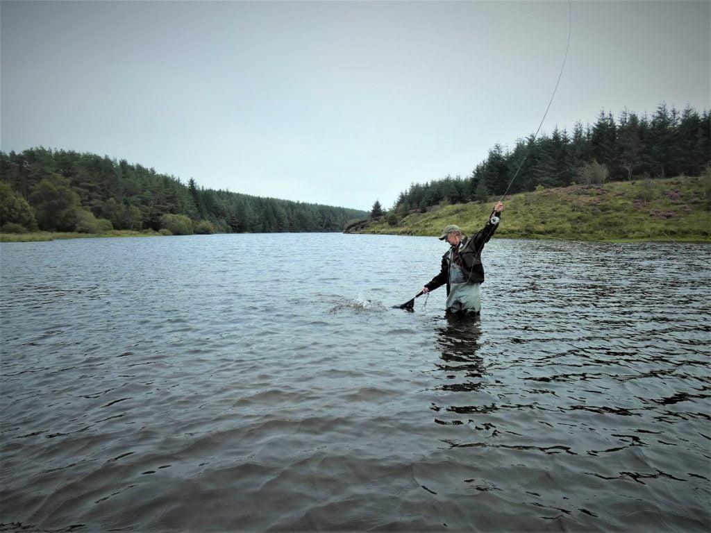 bank fishing llyn clywedog
