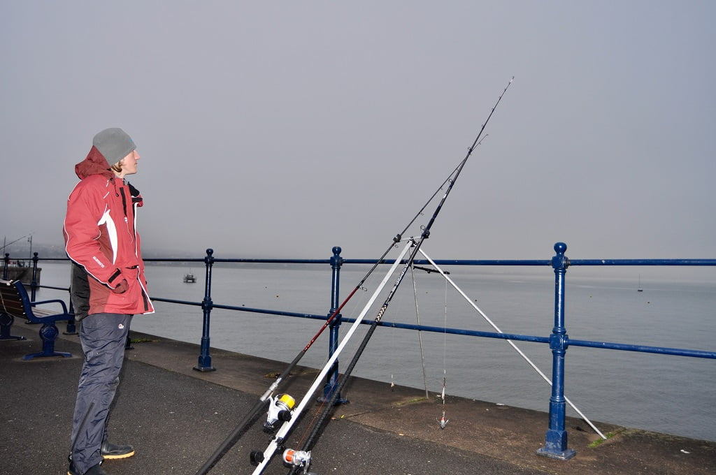 easy access sea fishing in Wales