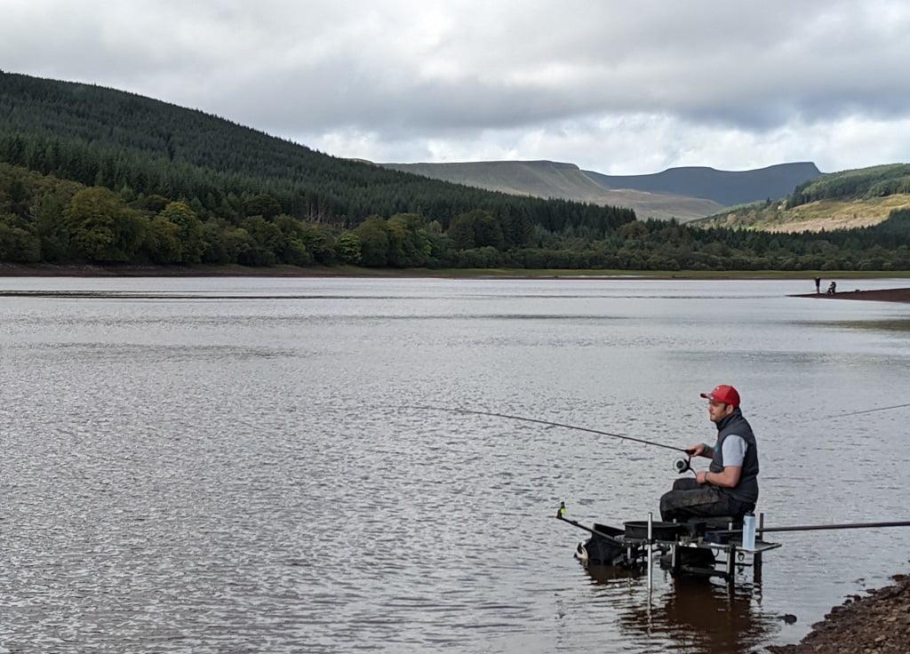 fishing dolygaer reservoir