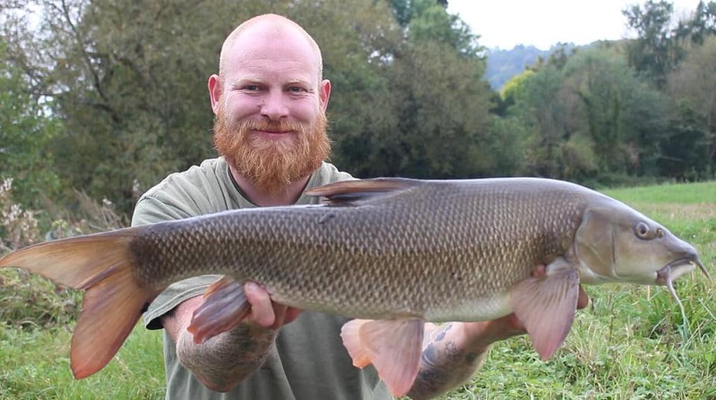 river wye barbel fishing Wales